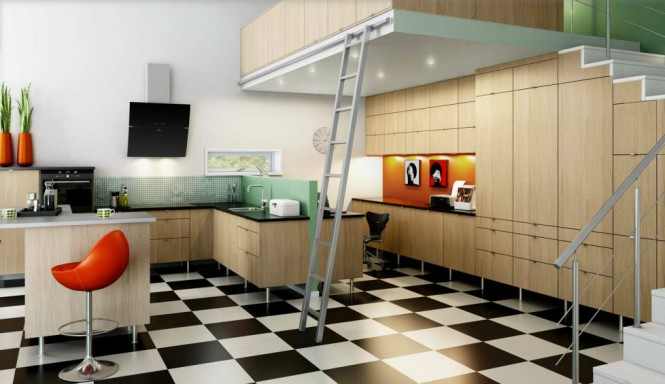 KITCHEN DESIGN INSPIRATION BY NORDIC