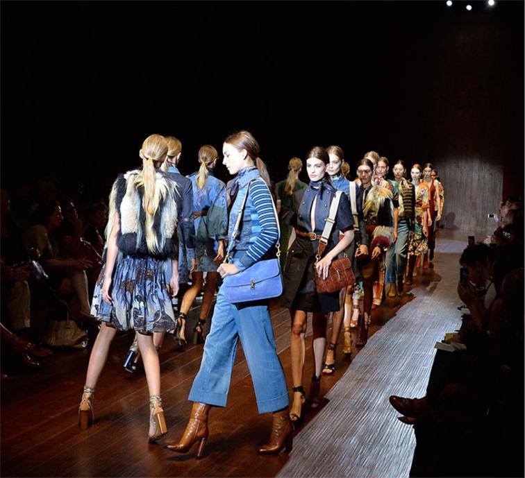 Gucci runway show, FW14-15, Milan fashion week