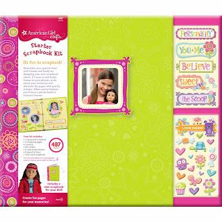 American Girl scrapbook kit