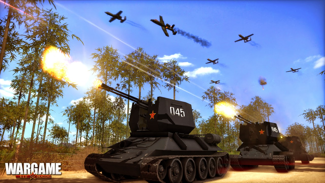 Wargame Red Dragon PC Game