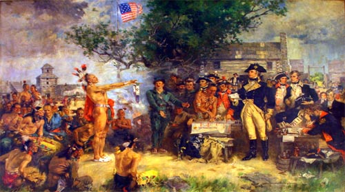 native american treaties Later cases established that the power to make treaties with the indian tribes was   individual native americans, whether by treaty or under an act of congress,.