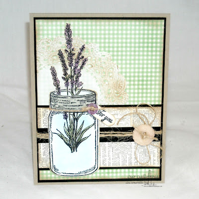 Our Daily Bread Designs, Lavender, Blue Ribbon Winner, Canning Jars die