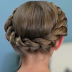 Elegant Flower Girl Hairstyles - The Crown Twist Braid Hairstyle Tutorial
