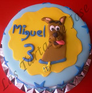 Tarta Scooby Doo. Las Tartas de Jose. Castellón.