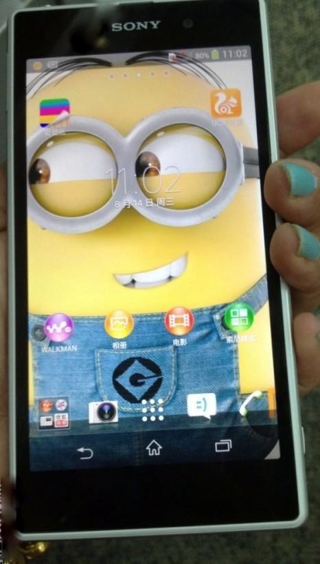 Sony Xperia Honami i10 screen size