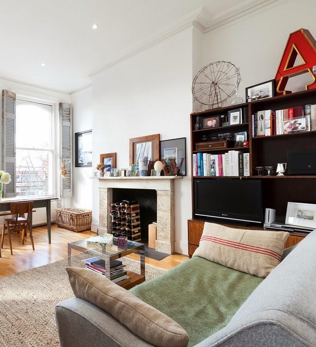 Estilo rustico apartamento remodelado en el centro de londres - Apartamento en londres ...