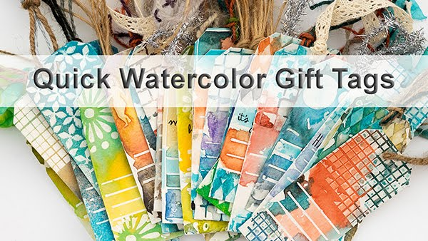 Quick Watercolor Gift Tags Class