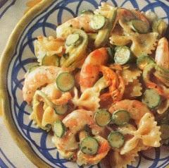 farfalle-zucchine-gamberi