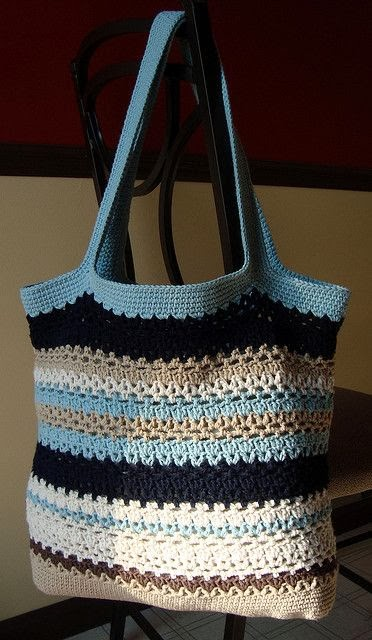 Free Crochet Patterns For Grocery Bags : Crocheting Conversations: Ooohhhh Baby thats what I like...