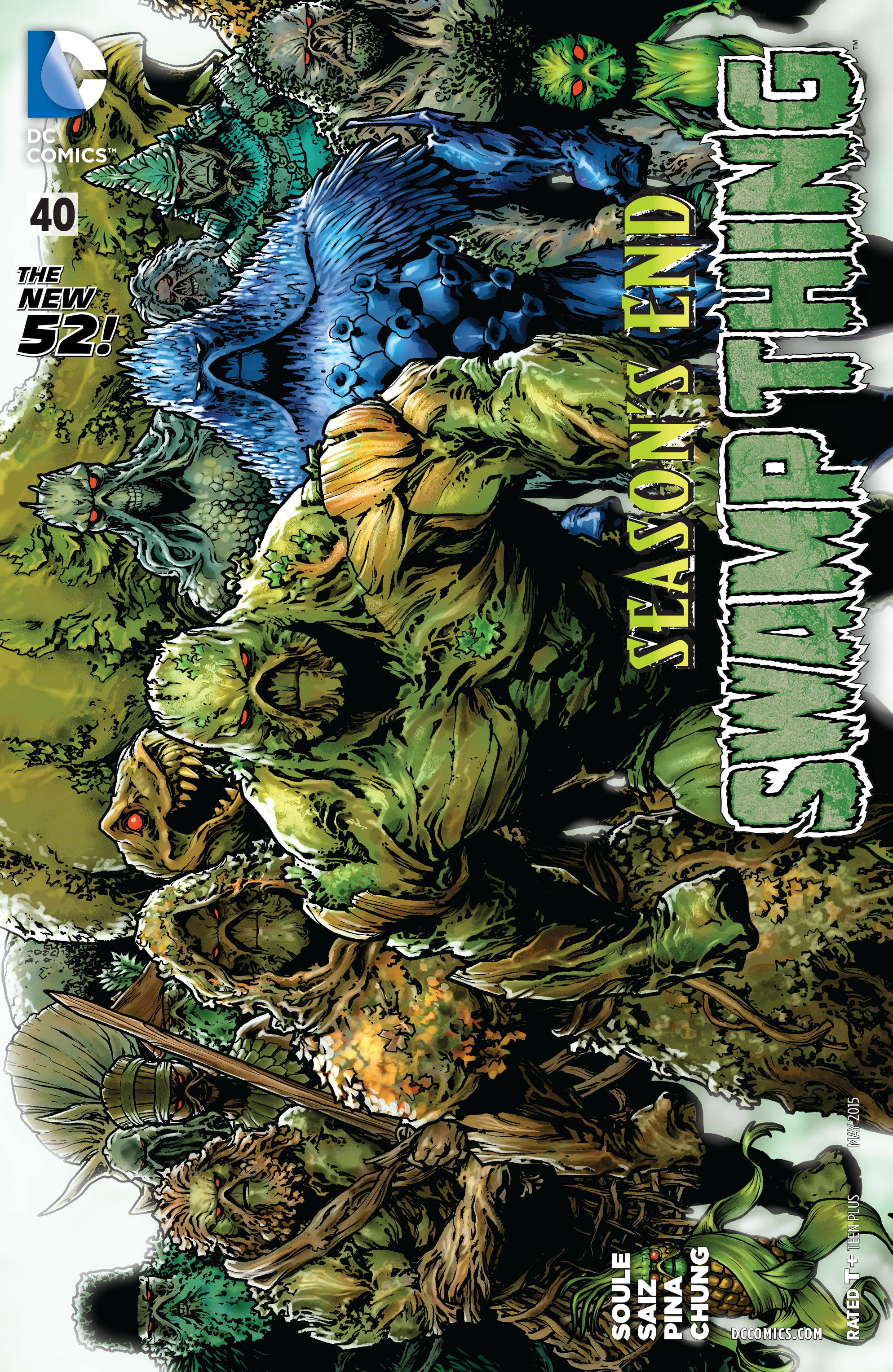 Swamp Thing (2011) Issue #40 #45 - English 1
