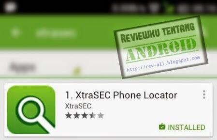 Ikon aplikasi pelacak hp android mungil - XtraSEC oleh rev-all.blogspot.com