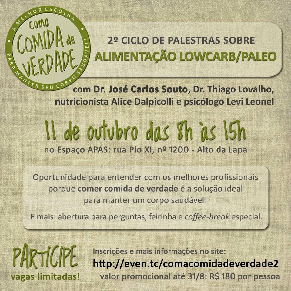 2° Ciclo de Palestras acontecerá em São Paulo