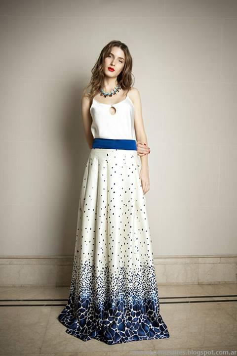 Maison Natalie B vestidos, faldas y blusas 2014, Moda 2014