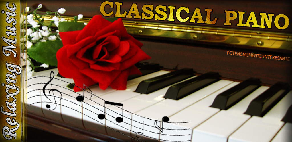 graphic promo classical piano relax music