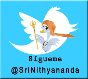 Swamiji ya est twiteando!