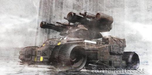 Ares Mech Hunter por ShamanX