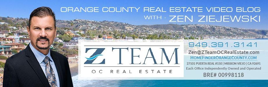 Orange County Real Estate Video Blog with Zen Ziejewski