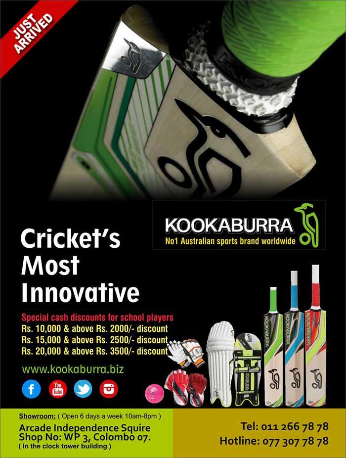 Kookaburra - Cricket's Most Innovative.