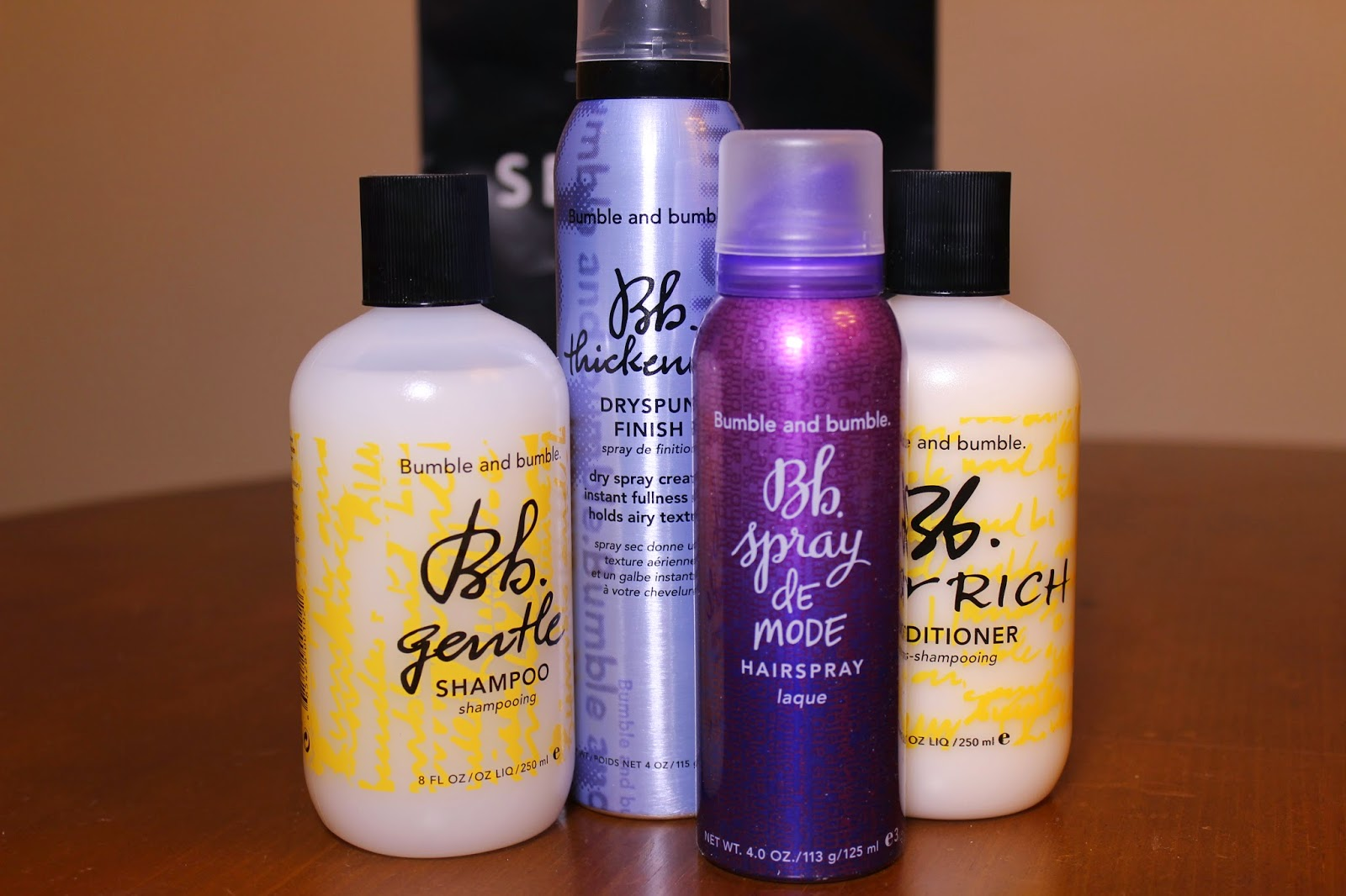 Bumble and Bumble, shampoo, conditioner, hairspray, texturizing, spray, volume, hair, care, thick, body, haul, review, Sephora