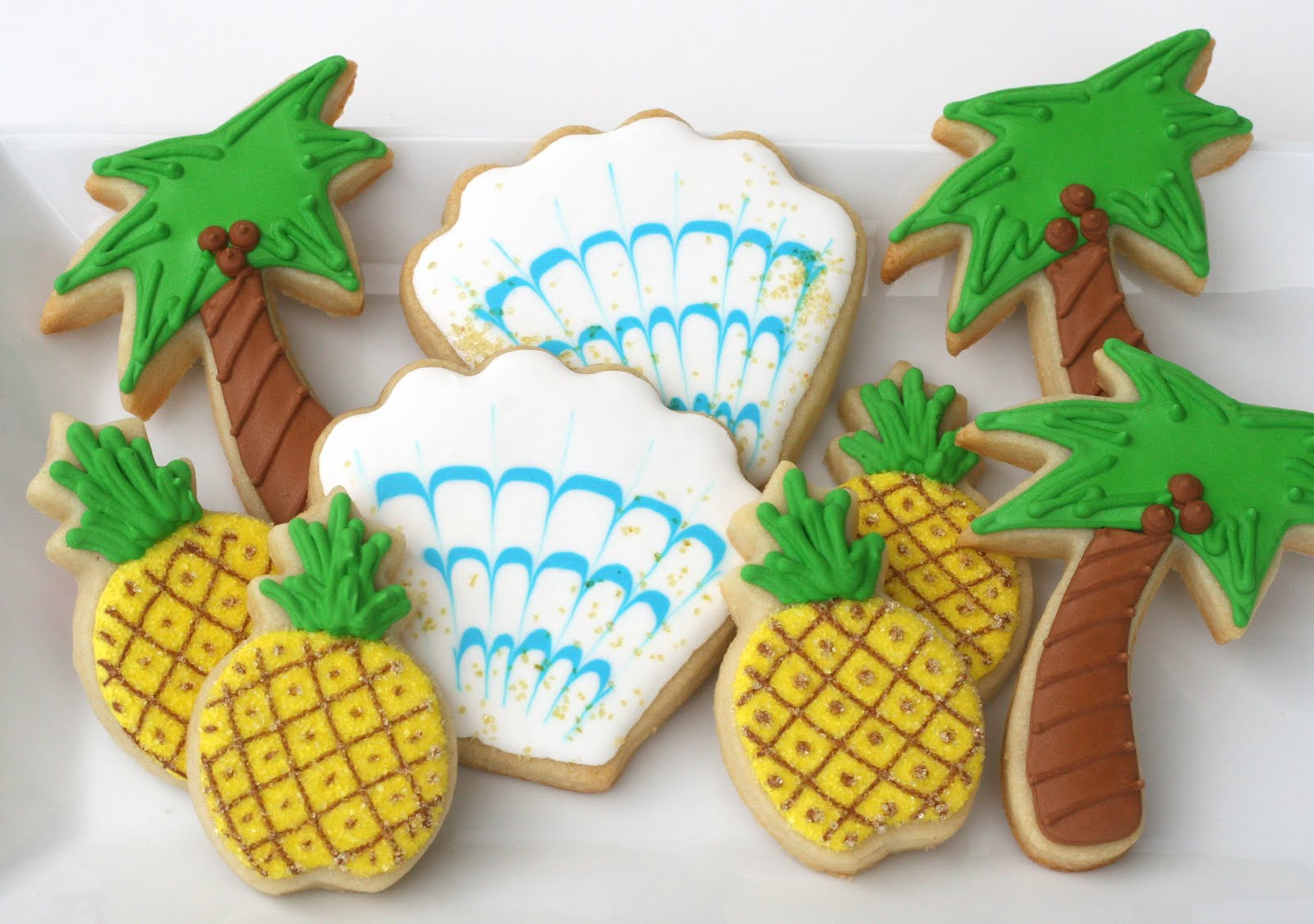 Cookie decorating party ideas - Fun Summer Cookies Cookie Decorating