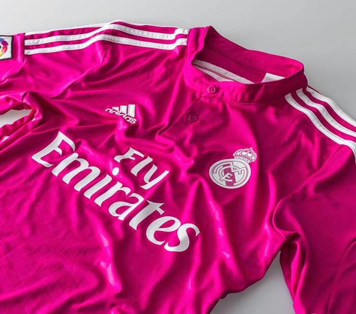 camisa adidas real madrid rosa