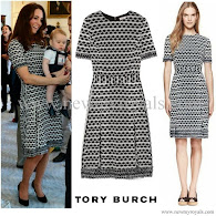 Kate Middleton Style Tory Burch Dress