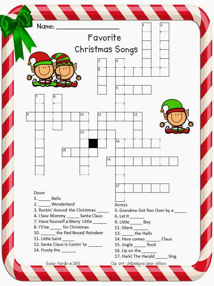 ... Grade Grapevine: Another December Freebie: Favorite Christmas Songs