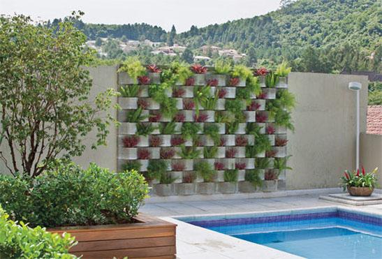 Arquitectura decoraci nwow ideas creativas jardineras en for Jardineras con bloques