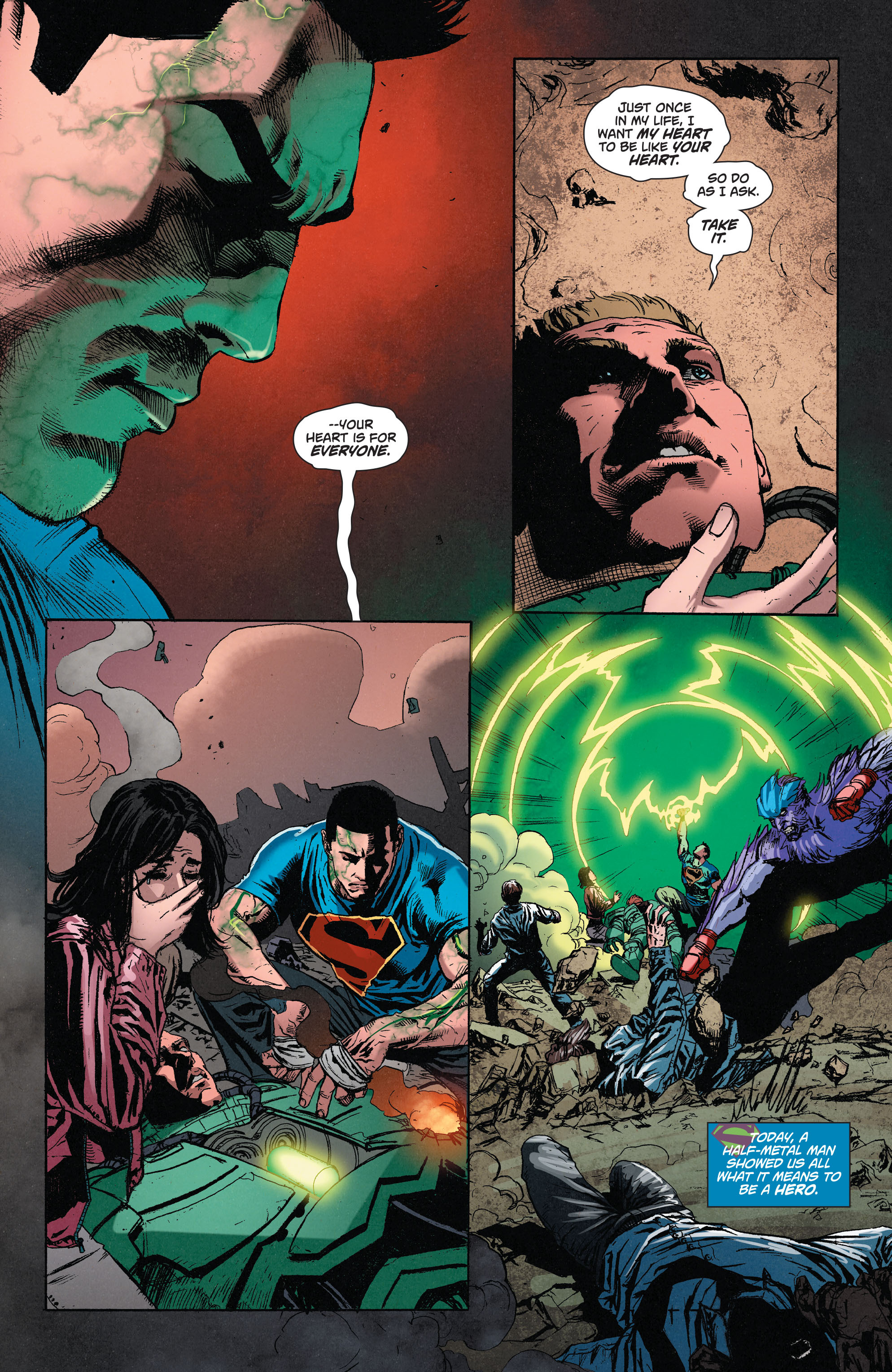 Read online Superman (2011) comic -  Issue #49 - 21