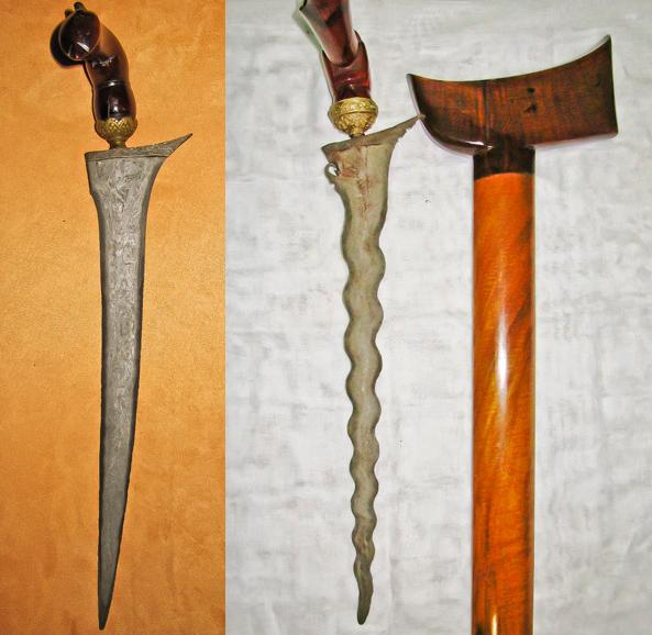 Silat weapons