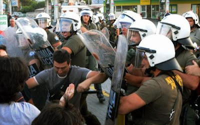 Η Χρυσή Αυγή στο πλευρό των Ελλήνων εργατών της Χαλυβουργίας Ελλάδος
