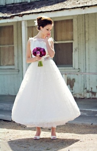 Ankle Length Ball Gown
