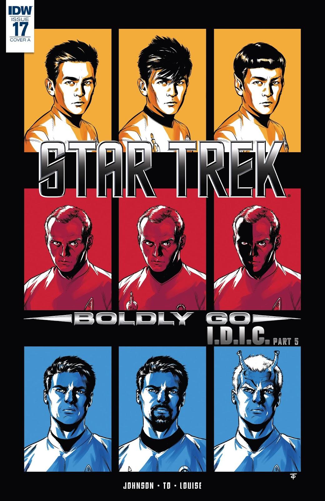 Star Trek: Boldly Go 17 Page 1