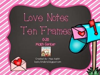 https://www.teacherspayteachers.com/Product/Love-Notes-Ten-Frames-0-20-Math-Center-1682398