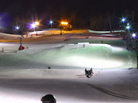 West Mountain Ski Center, Wednesday night 01/08/2014.  The Saratoga Skier and Hiker, first-hand accounts of adventures in the Adirondacks and beyond, and Gore Mountain ski blog.