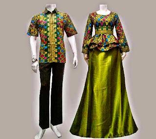 Foto Baju Batik Modern Solo