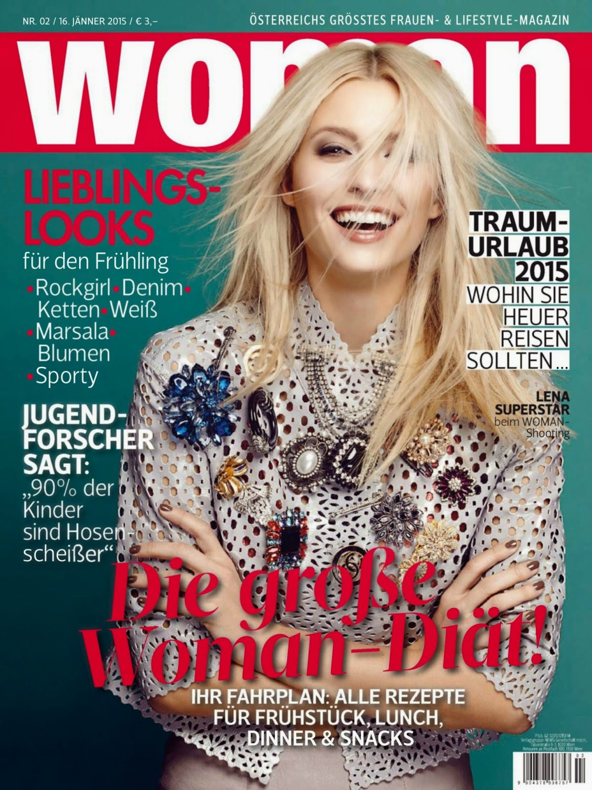 Fashion Model , TV Host: Lena Gercke - Woman, Austria