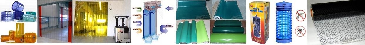 Màn nhựa pvc, rèm nhựa pvc, mành nhựa pvc, rèm ngăn lạnh, thảm cao su chống tĩnh điện, quạt cắt gió