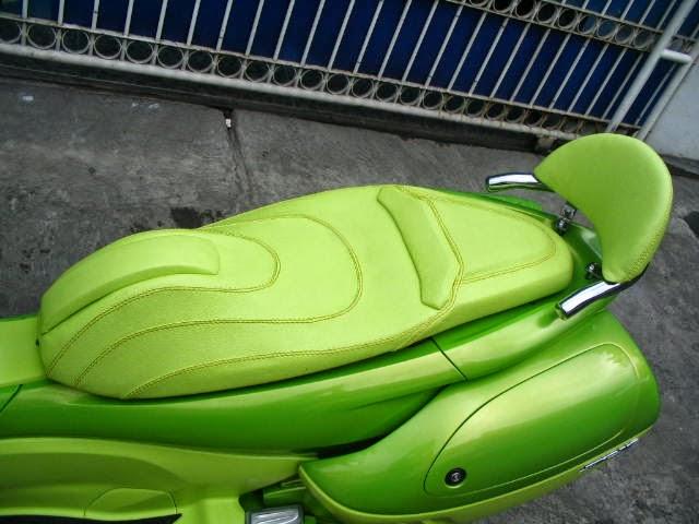 Jok Honda Beat Si Hijau Yang Menyalah