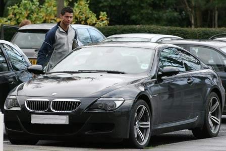 De Tien Het Peperdure Wagenpark Van Cristiano Ronaldo
