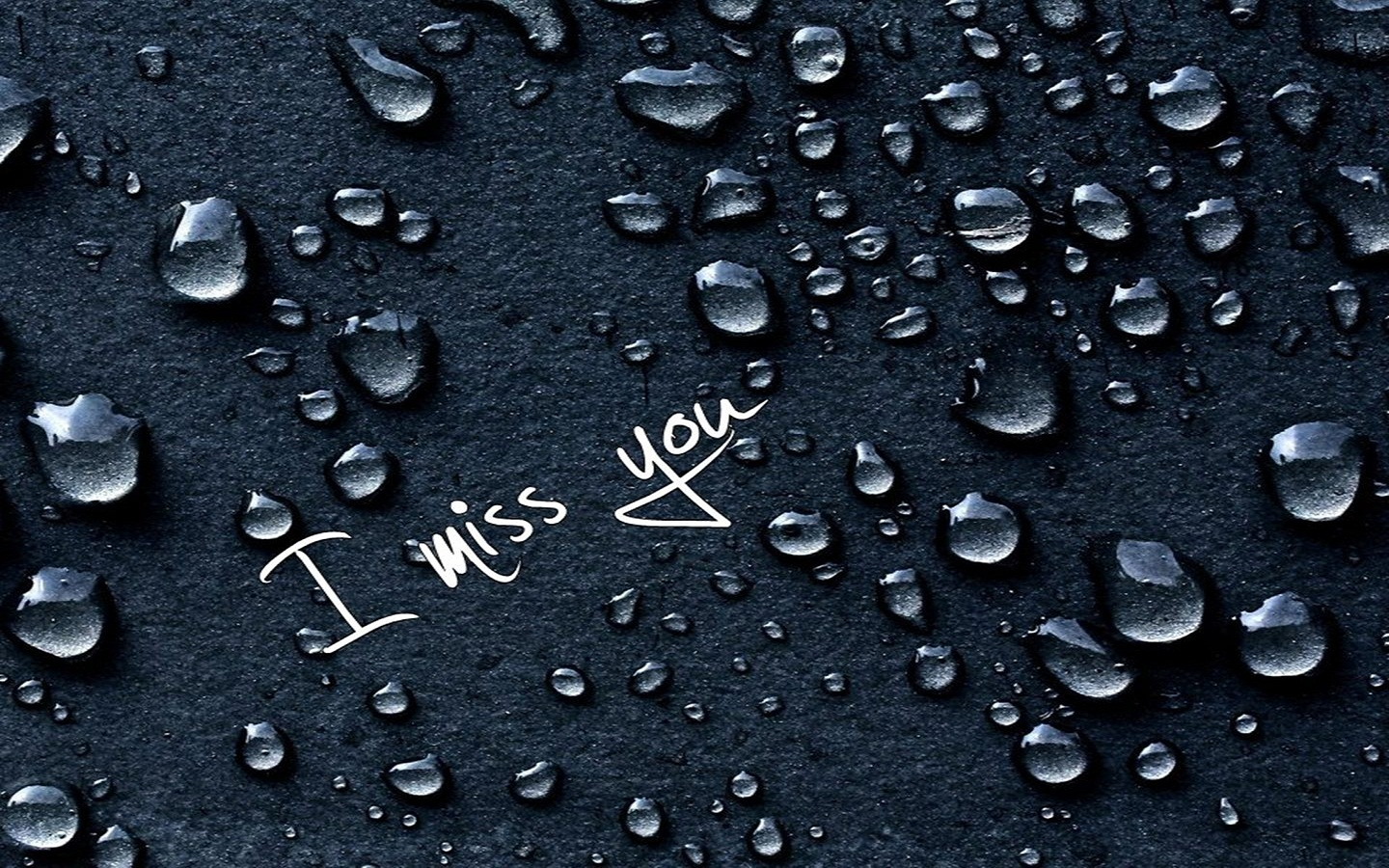 Rain Drops I Miss You Images New HD