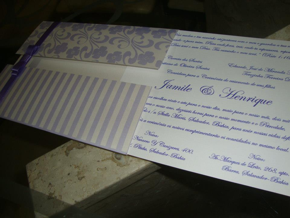 Rebeca Florentino Designer de Convites