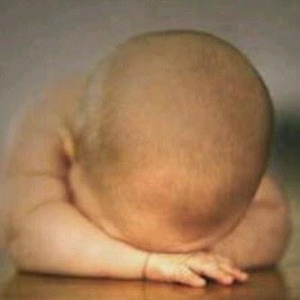 Foto Cara Menghilangkan Kerak di Kulit Kepala Bayi