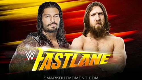 WWE Fast Lane 2015 Daniel Bryan vs Roman Reigns title match