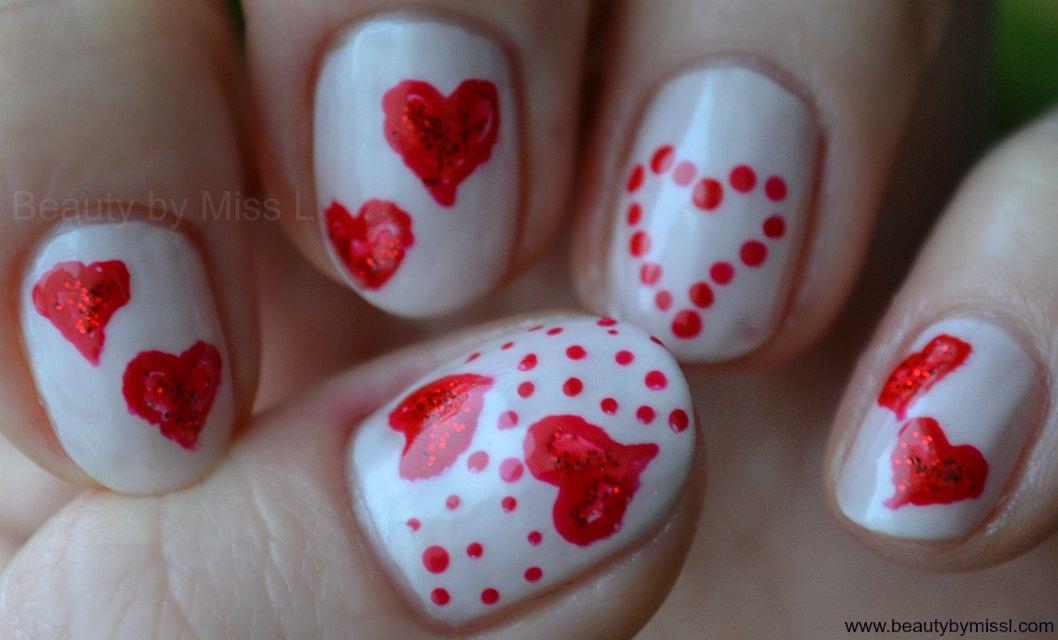 freehand nail art