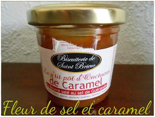 Crème de caramel de beurre salé - Biscuiterie Saint-Brieuc