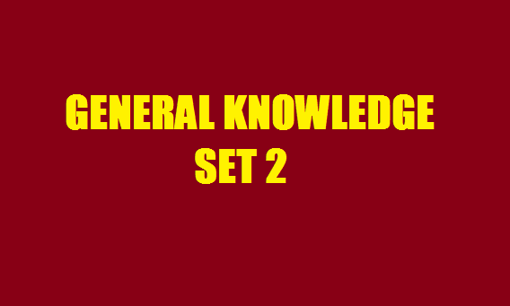 GENERAL KNOWLEDGE SSC BANKING