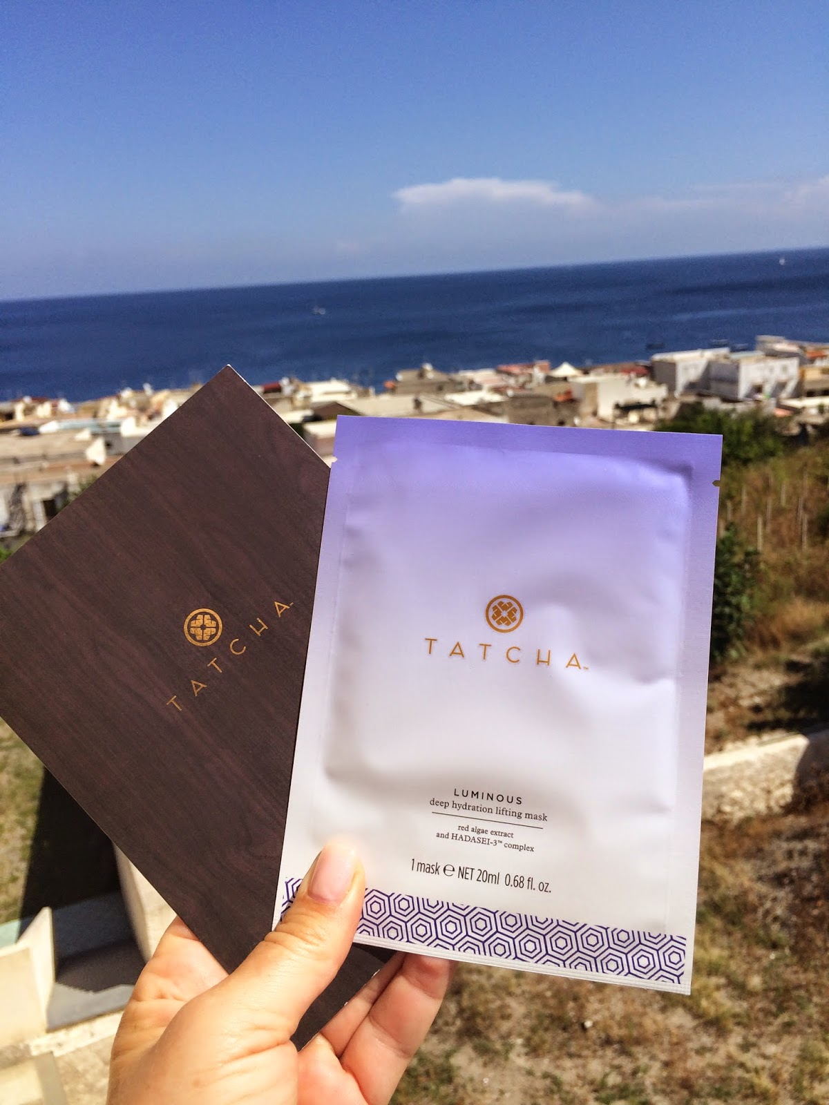 Glam-Italia-Tour-Tatcha-Luminous-Deep-Hydration-Lifting-Mask-Lipari-Aoelian-Islands