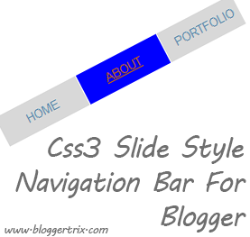 Css3+Slide+Style+Navigation+Bar+For+Blogger