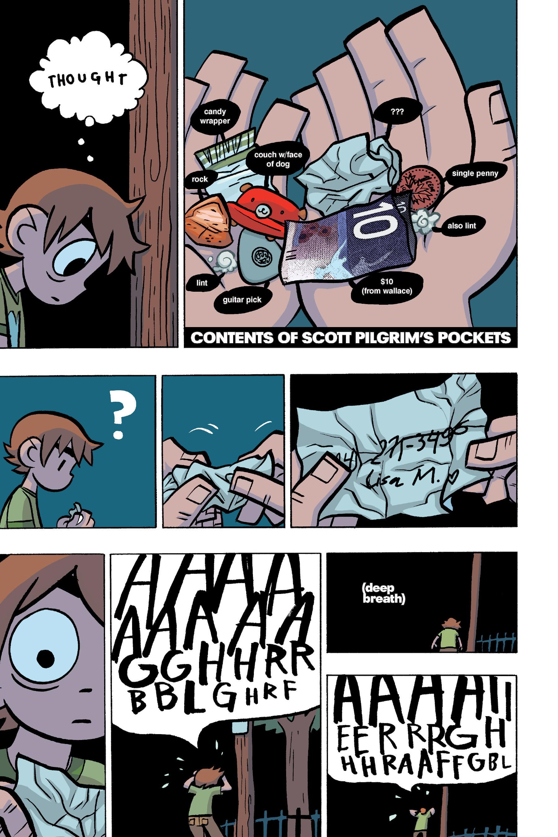 Read online Scott Pilgrim comic -  Issue #4 - 133